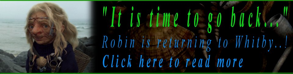 Robin is returning to Whitby